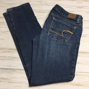 Size 0 Short American Eagle Skinny Jeans
